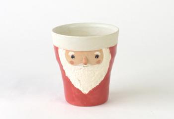 サンタのフリーカップ