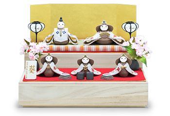 かすみ-KASUMI-収納段飾り木箱セット