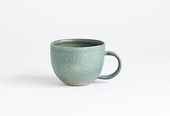 マグカップ (淡青磁)