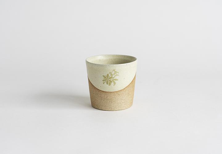花個紋お揃いカップ(大)