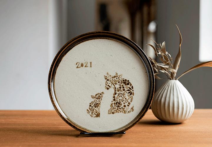 干支飾りプレート01