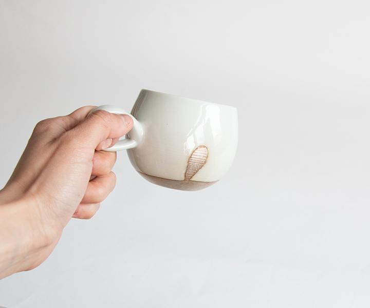 白釉カップ02