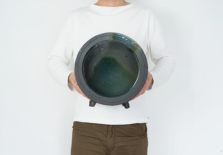 丸水槽・大(すす竹茶)07