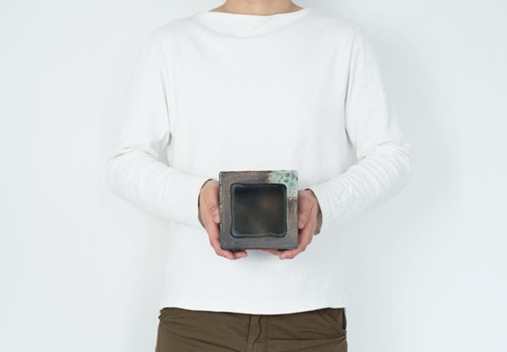 角水槽・小(すす竹茶)05
