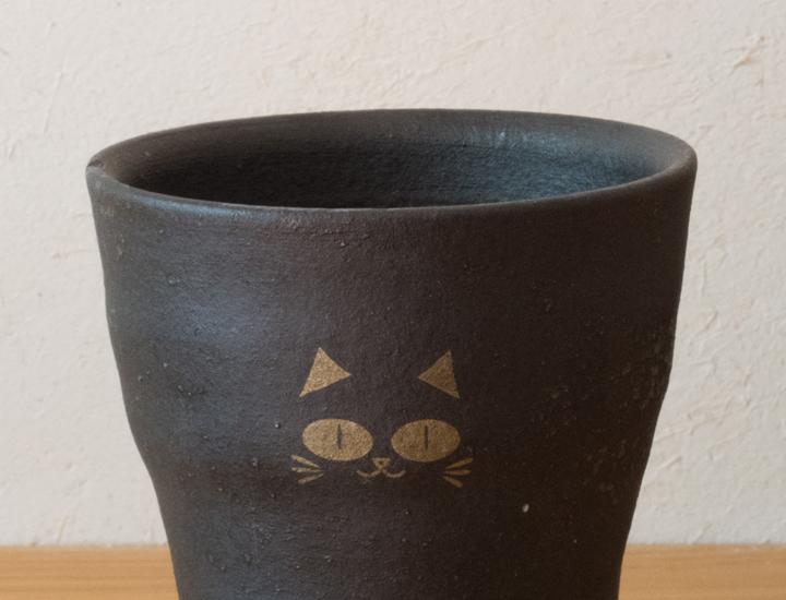 フリーカップ黒猫02