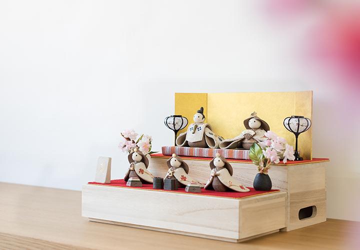 かすみ親王飾りセット02