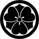 """""""丸に剣片喰"""""""