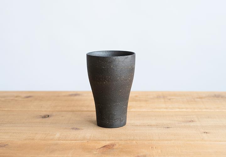 ビアカップ(とび茶)01
