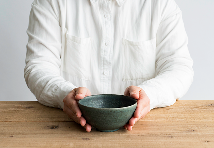 ごはん茶碗(淡青磁)05